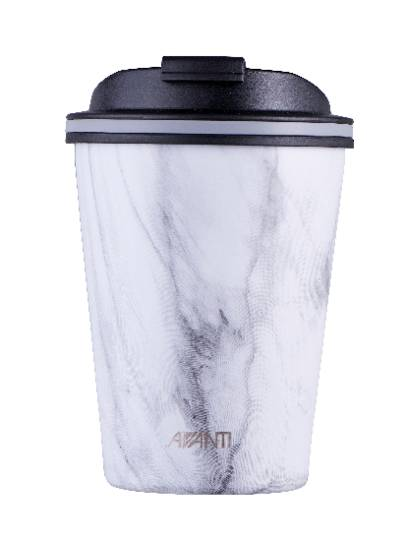 Avanti Double Wall Go Cup - White Marble