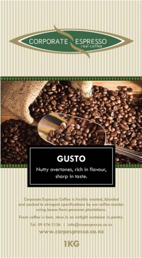 Corporate Espresso Gusto Coffee